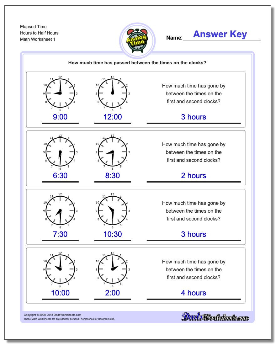 Elapsed Time 3rd Grade Worksheets Elapsed Time Questions for Grade 3 Book 20 Elapsed Time Word
