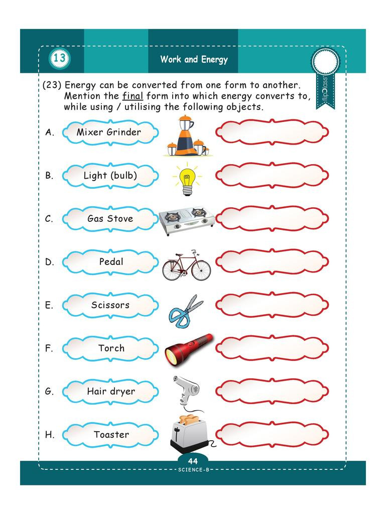 Energy Worksheets for 4th Grade Genius Kids Worksheets for Class 4 4th Grade