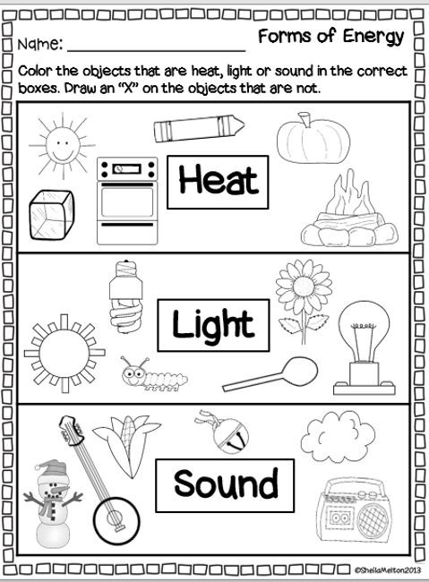 Energy Worksheets for 4th Grade How is Light Energy Connected to Heat and sound Energy