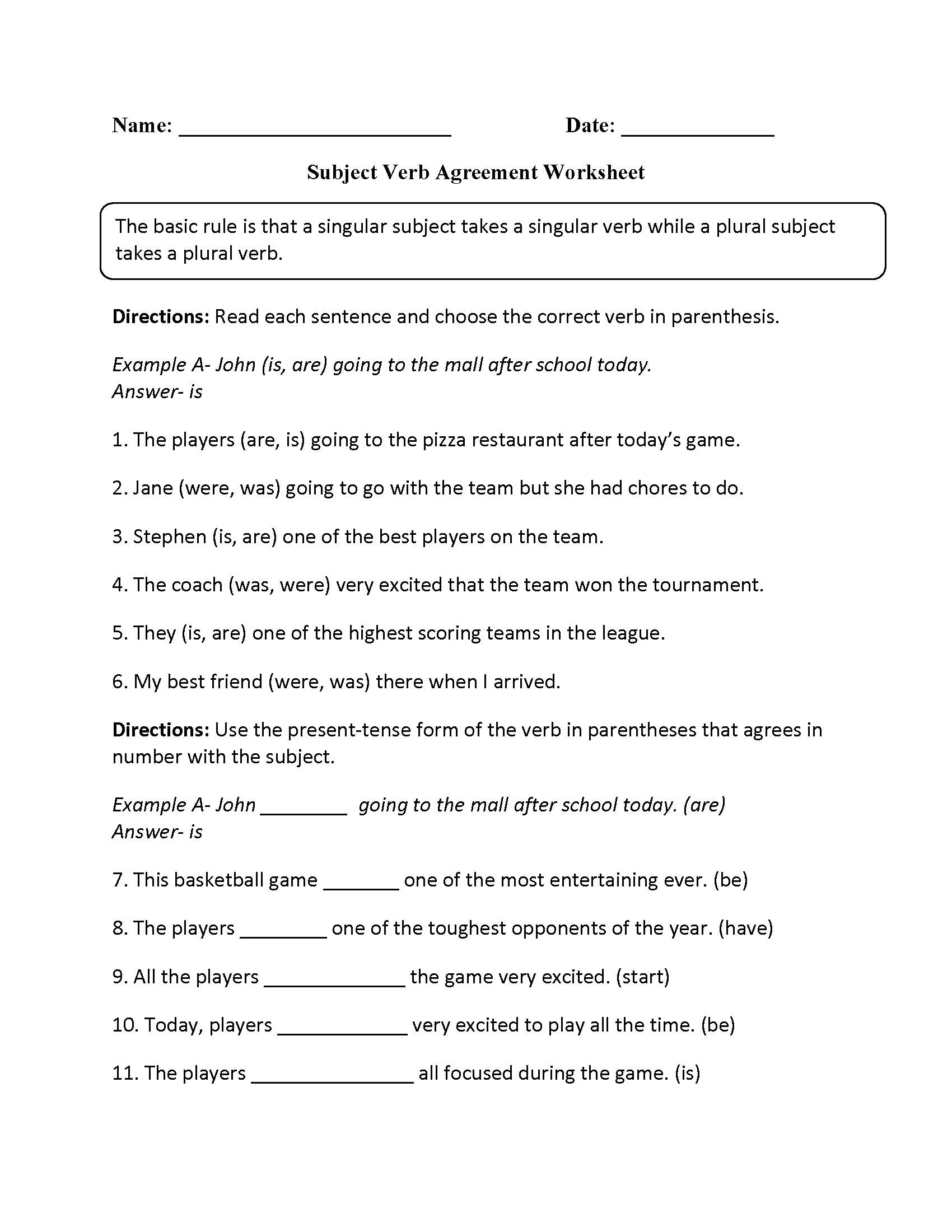 English Worksheets for 8th Grade English Grammar Worksheets for Grade 8 Pdf لم يسبق له Ù…Ø ÙŠÙ""