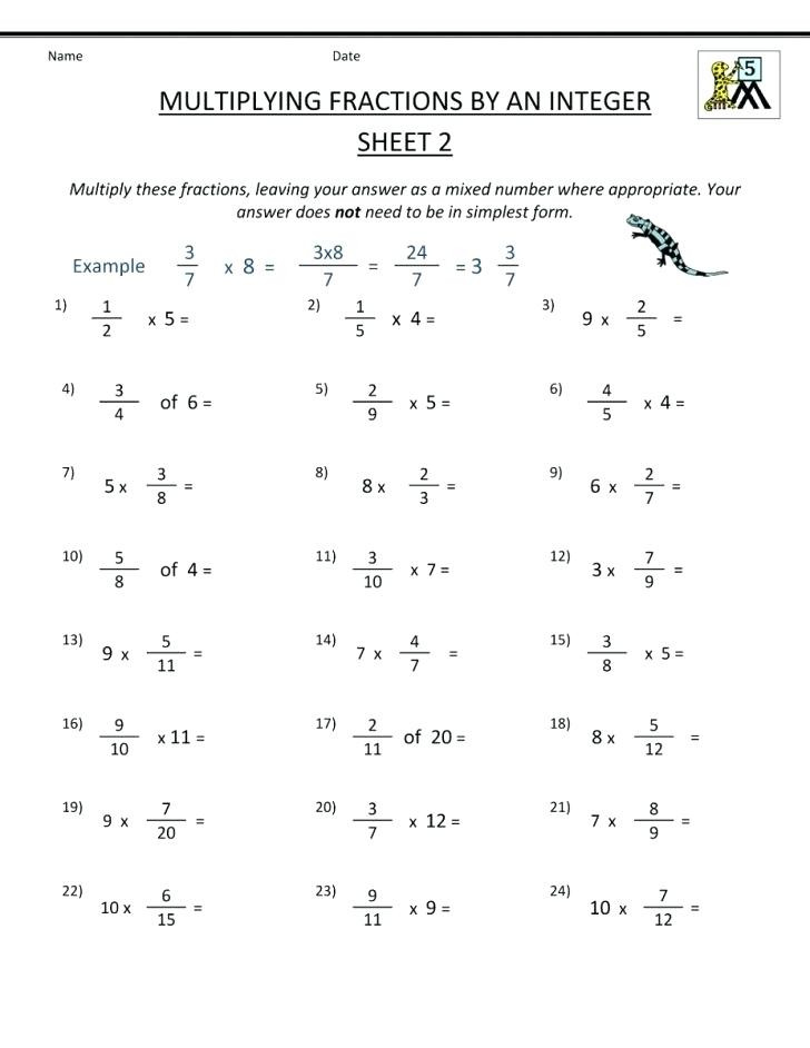 Equivalent Fraction Worksheets 5th Grade Fraction Worksheets 5th Grade – Keepyourheadup