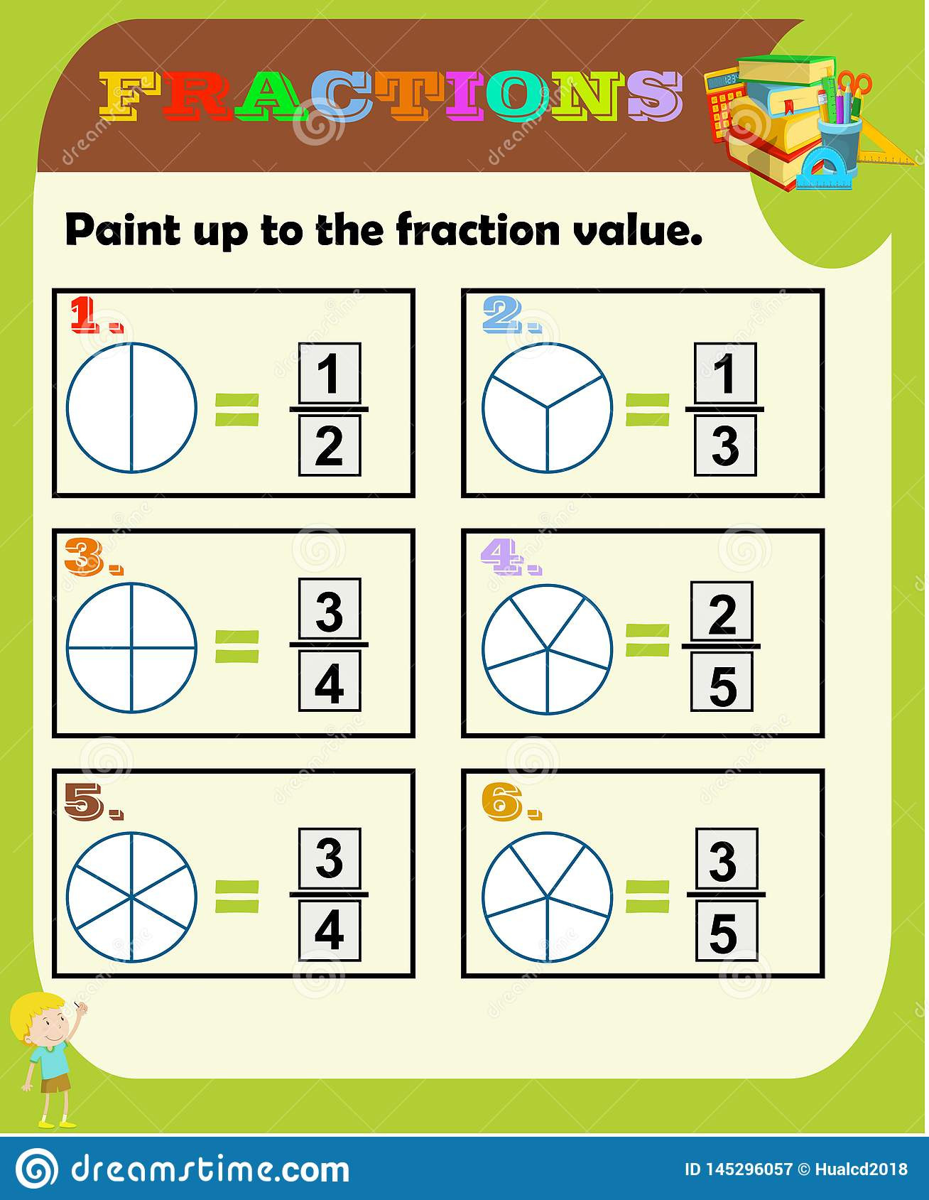 Equivalent Fractions Coloring Worksheet Fractions Worksheet Fraction Review Fraction Practice