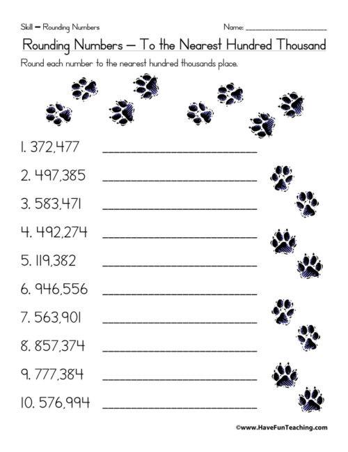 Estimation Worksheet 3rd Grade Estimation Worksheets • Have Fun Teaching