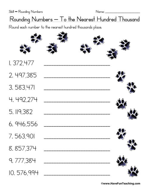 Estimation Worksheets for 3rd Grade Estimation Worksheets • Have Fun Teaching