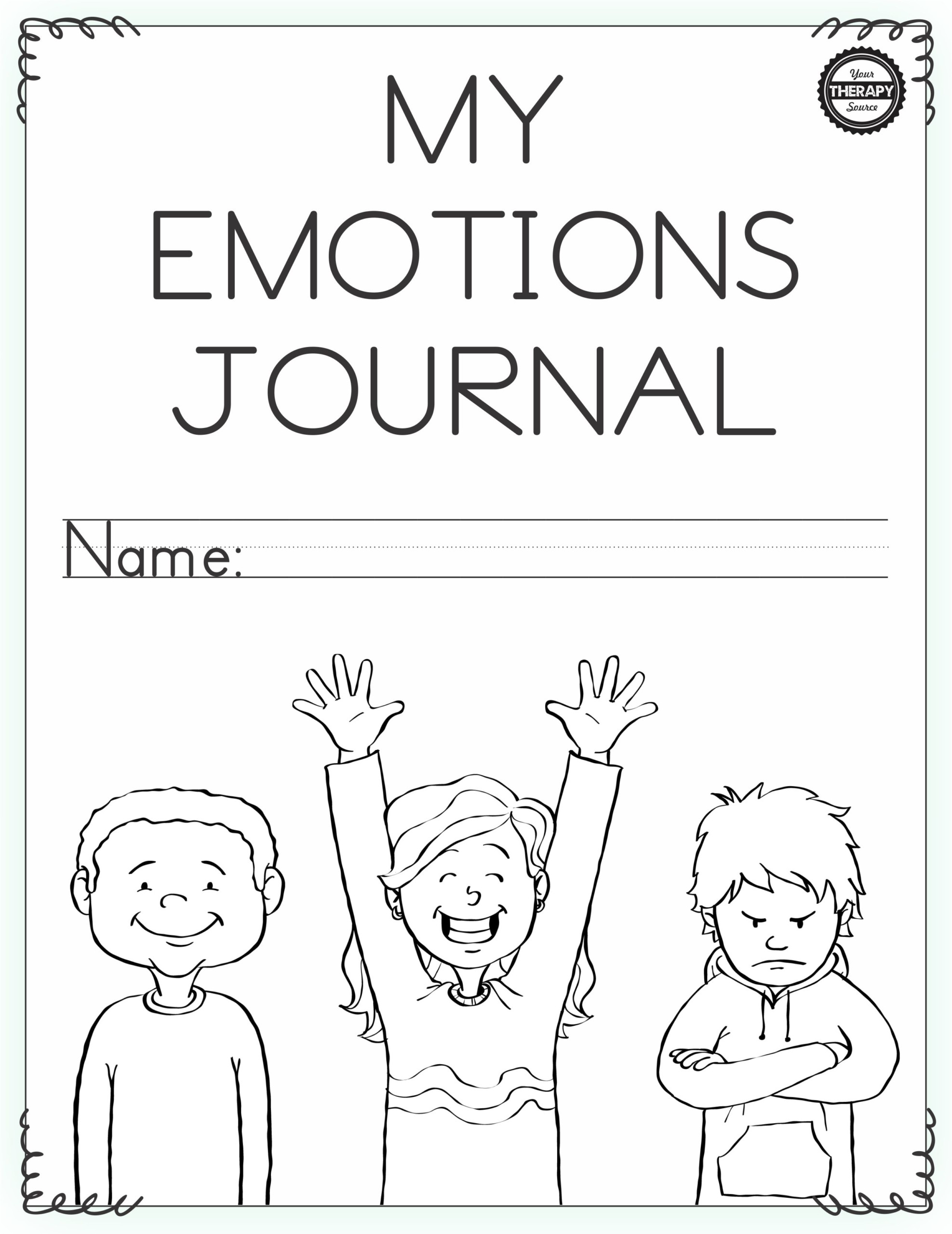 Feelings Worksheets for Kindergarten Emotional Regulation Worksheets for Boys and Girls