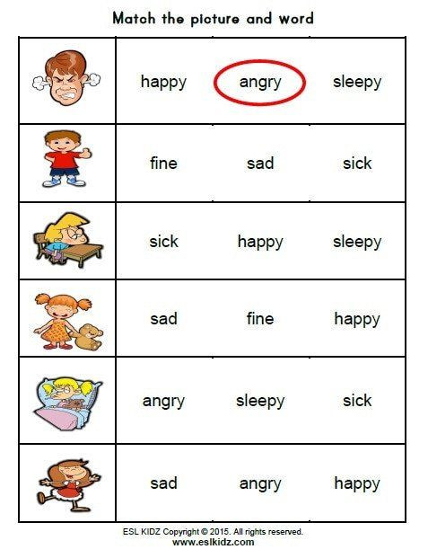 Feelings Worksheets for Kindergarten Pin On Printable Worksheet for Kindergarten