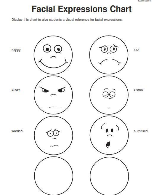 Feelings Worksheets for Preschoolers Emotions Worksheets for Kindergarten Worksheets for All