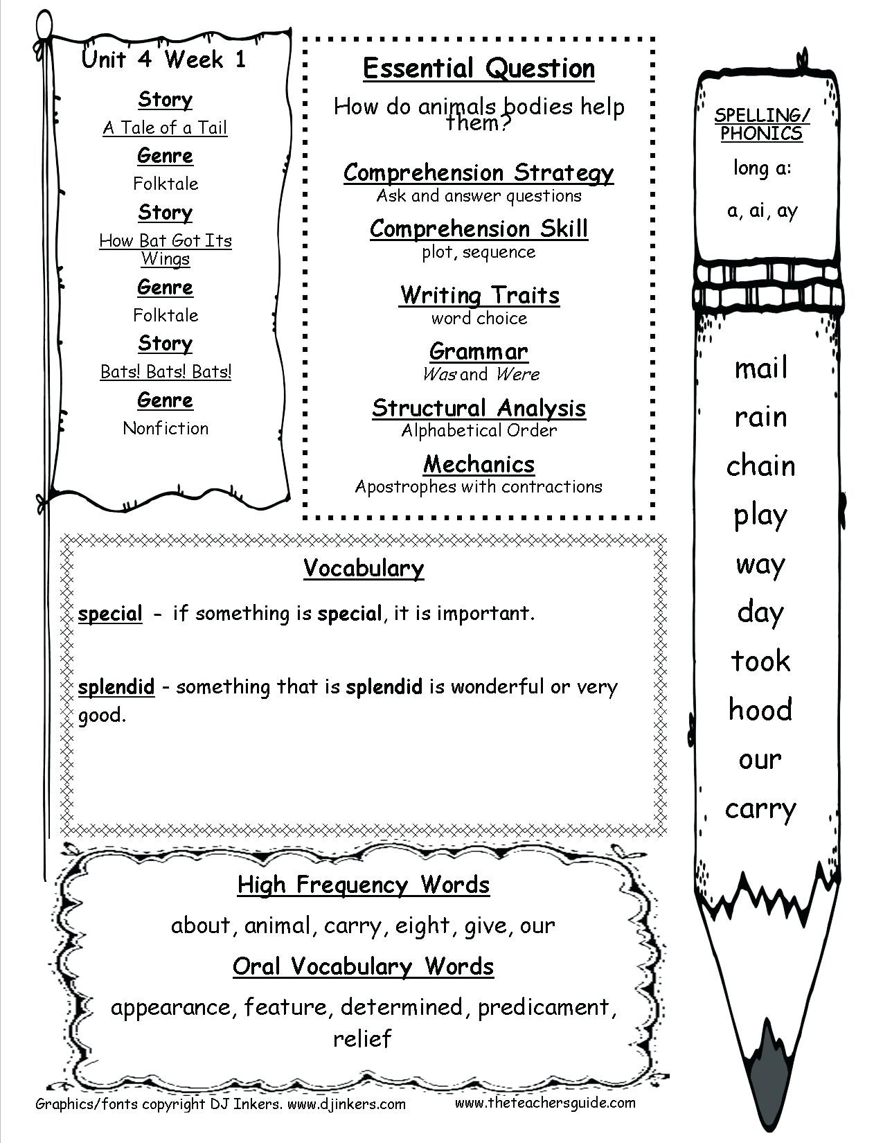 First Grade History Worksheets 1st Grade Reading Prehension Math – Beatricehewub