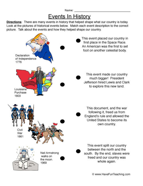 First Grade History Worksheets First Grade History Worksheets • Have Fun Teaching