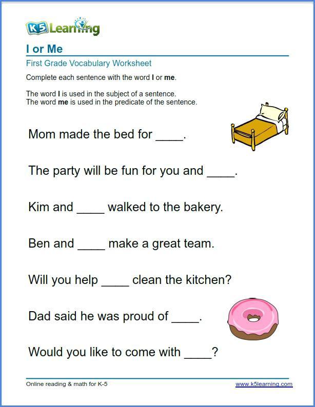 First Grade Vocabulary Worksheets First Grade Vocabulary Worksheets 8th Grade Vocabulary