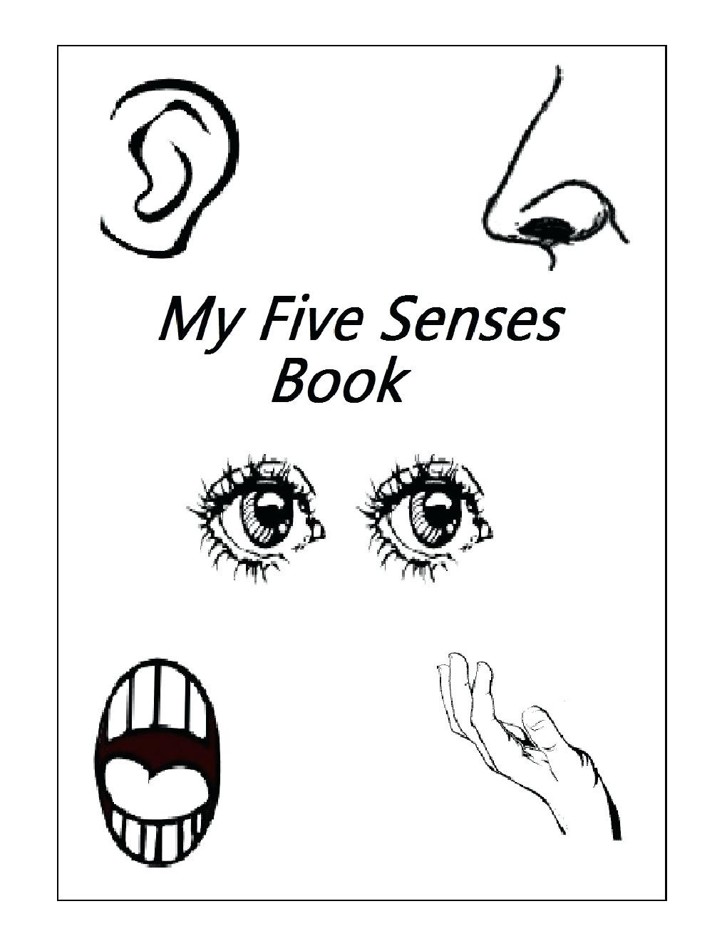 Five Senses Kindergarten Worksheet Free Printable Worksheets for Preschool Pdf Clover Hatunisi