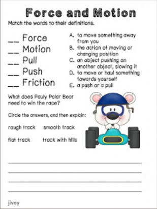 Force and Motion Printable Worksheets Free Printable force and Motion Worksheets