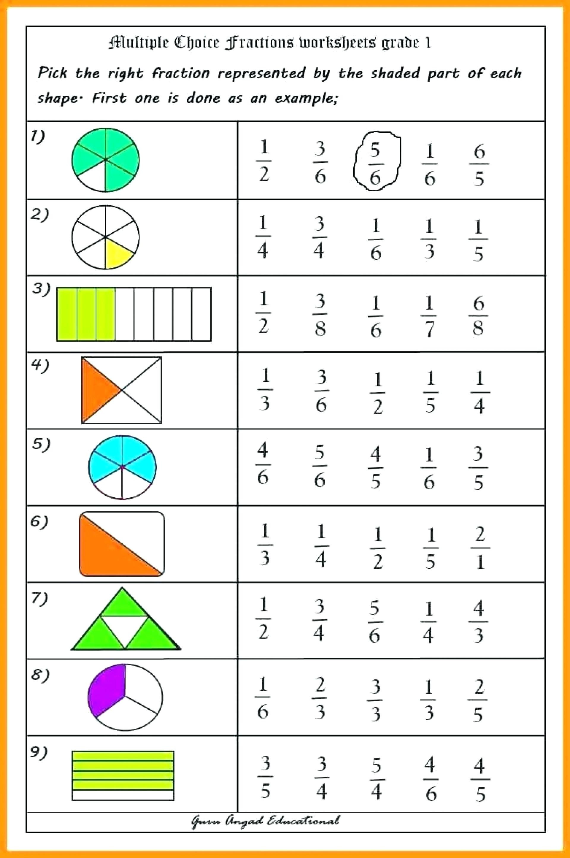 Fractions Worksheets Grade 4 Math Worksheet Grade 5 Adding Fractions