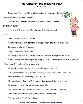 Free 2nd Grade Comprehension Worksheets 2nd Grade Reading Prehension Printables
