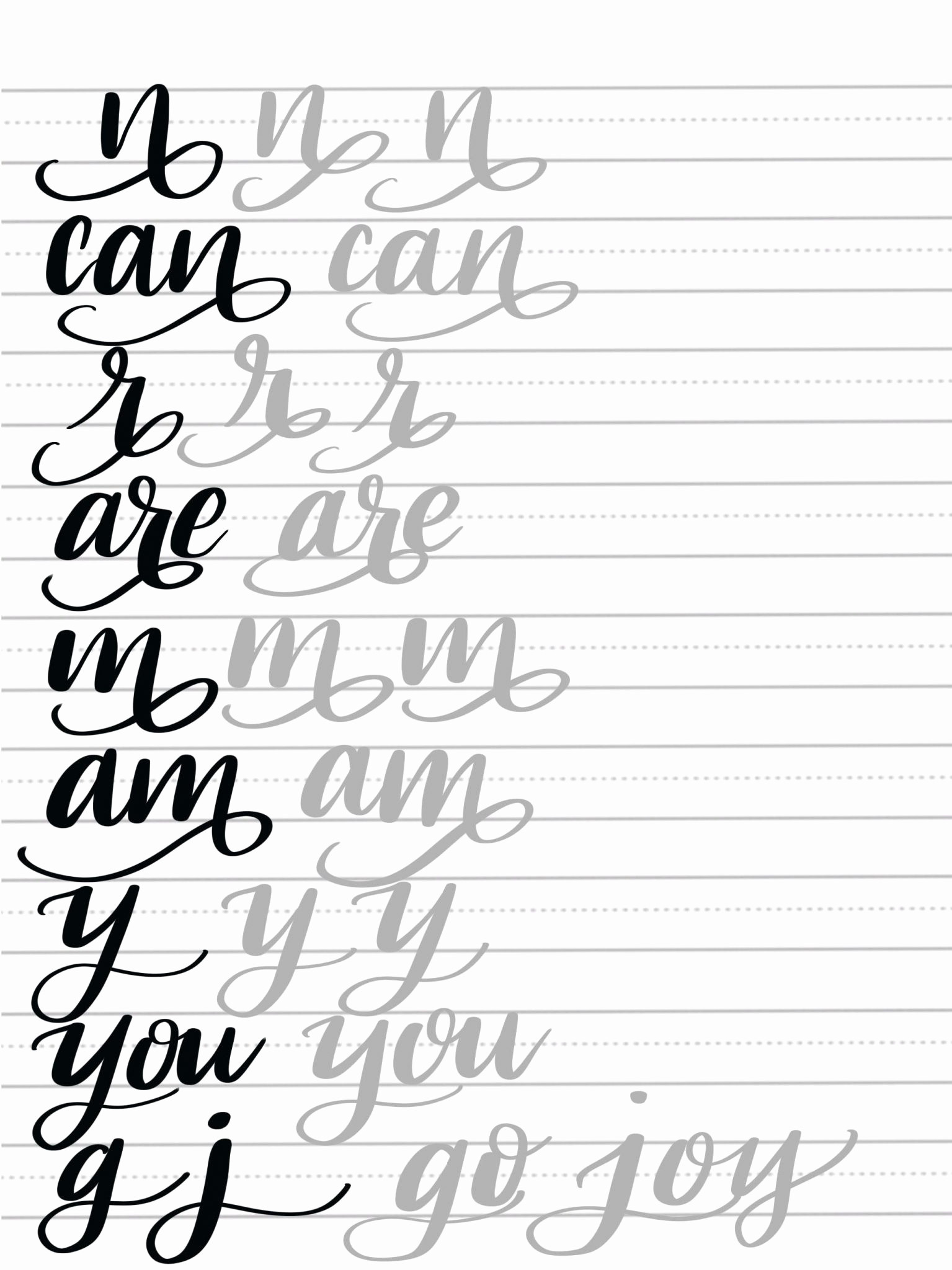Free Calligraphy Worksheets Printable Free Calligraphy Worksheets to Educations Free Calligraphy