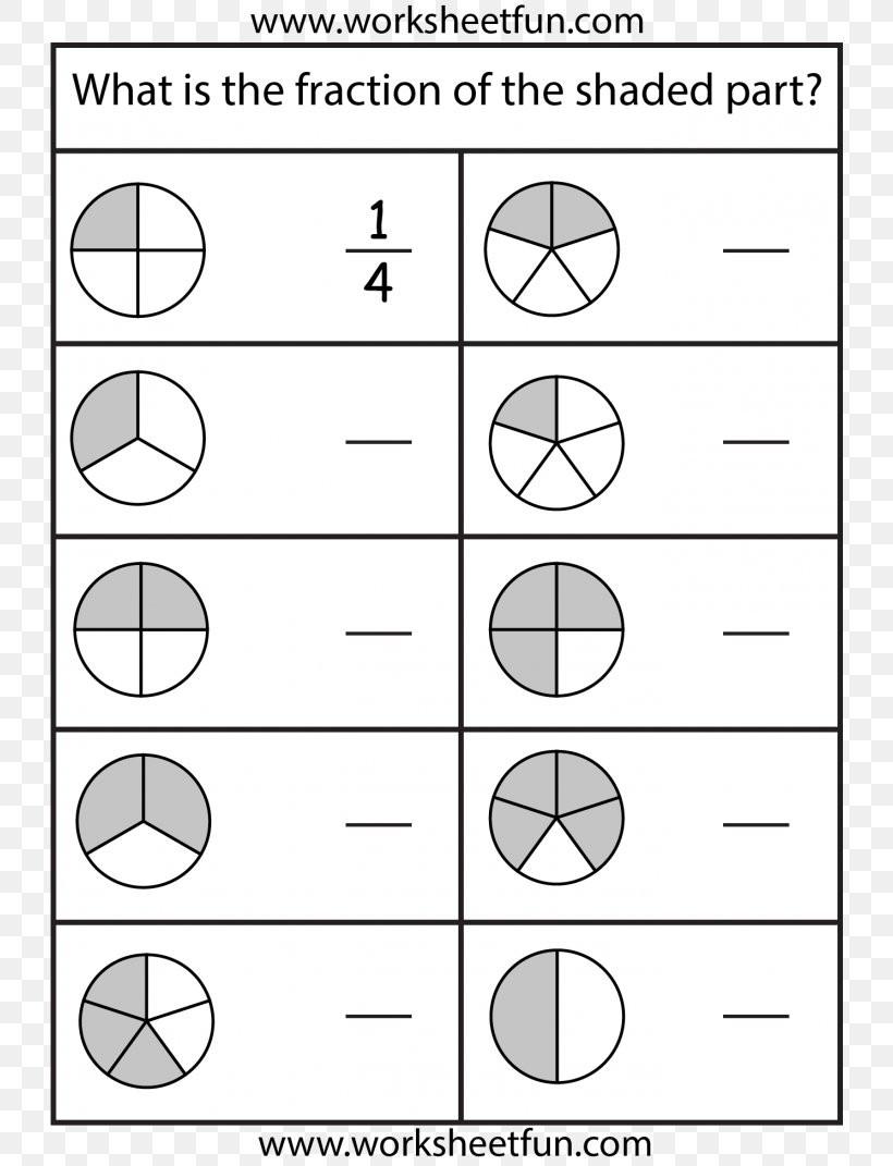 Free First Grade Fraction Worksheets Subtracting Fractions Worksheet Second Grade Education Png