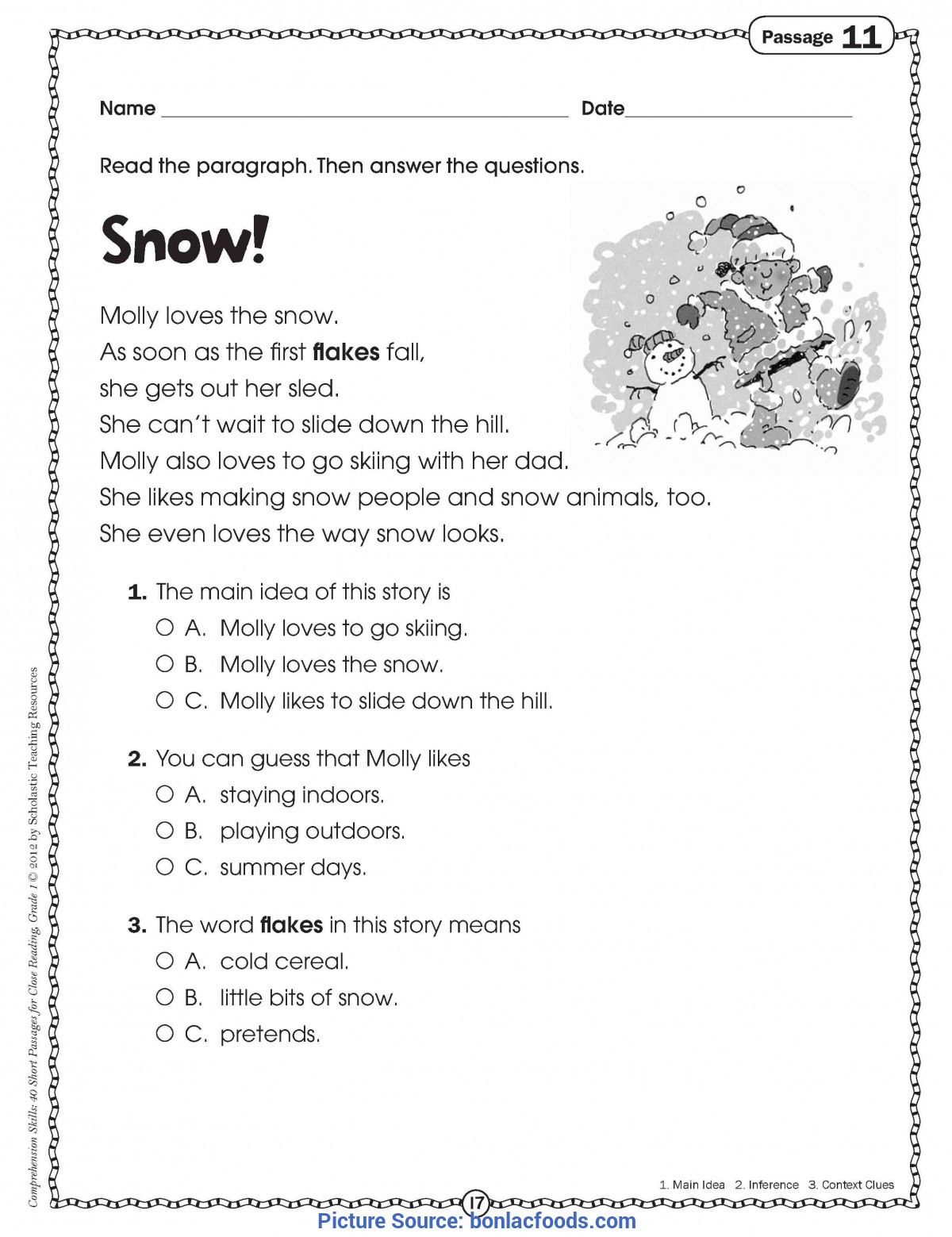 Free First Grade Reading Worksheets Best 1st Grade Reading Worksheets Worksheets for All