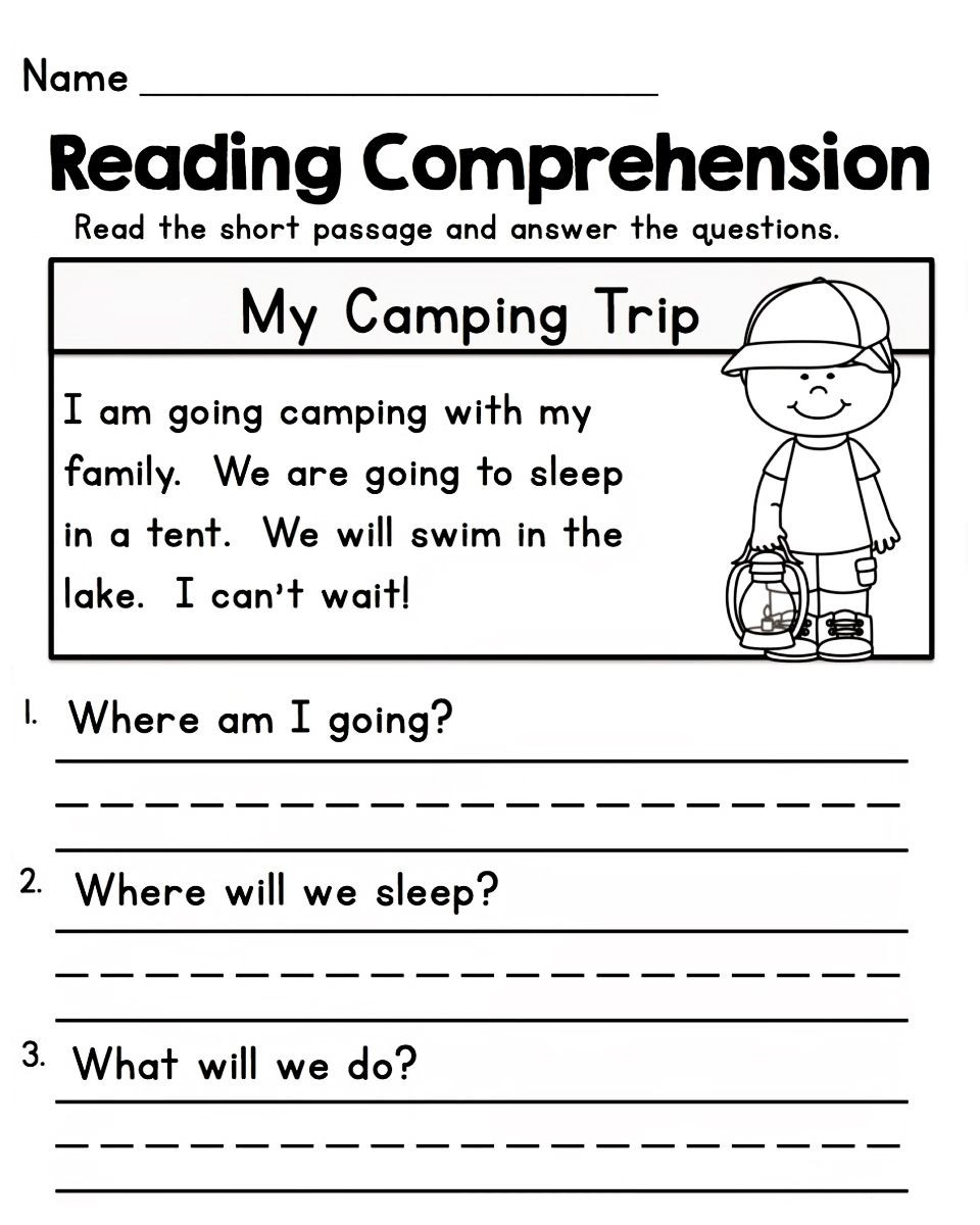 Free First Grade Reading Worksheets Free Worksheets for 1st Grade Reading