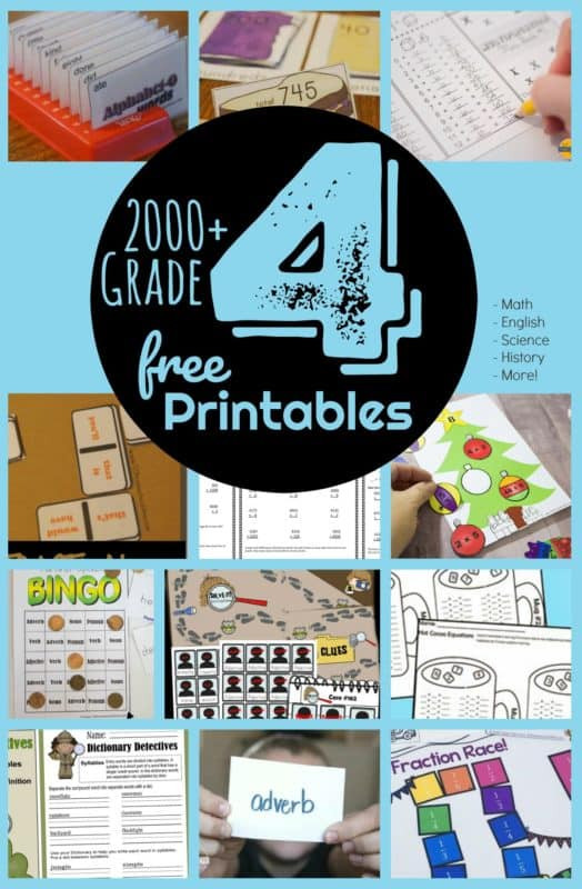 Free Fourth Grade Science Worksheets Free 4th Grade Worksheets