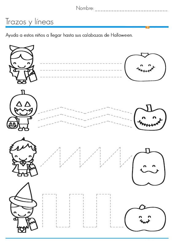 Free Kindergarten Halloween Worksheets Printable Halloween Worksheets for Kids