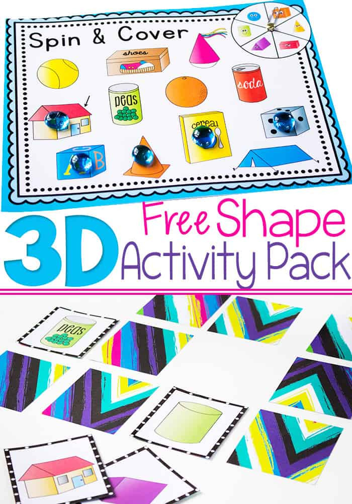 Free Printable 3d Shapes Worksheets 3d Shapes Free Printable Activities