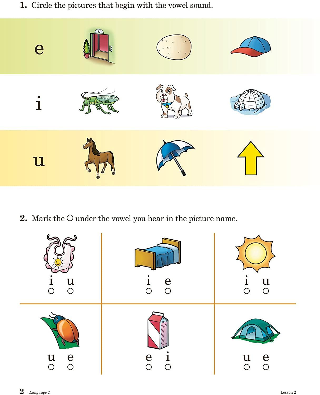 Free Printable Abeka Worksheets Language 1 Abeka 1st Grade 1 Grammar Creative Writing and Reading Prehension Student Work Text
