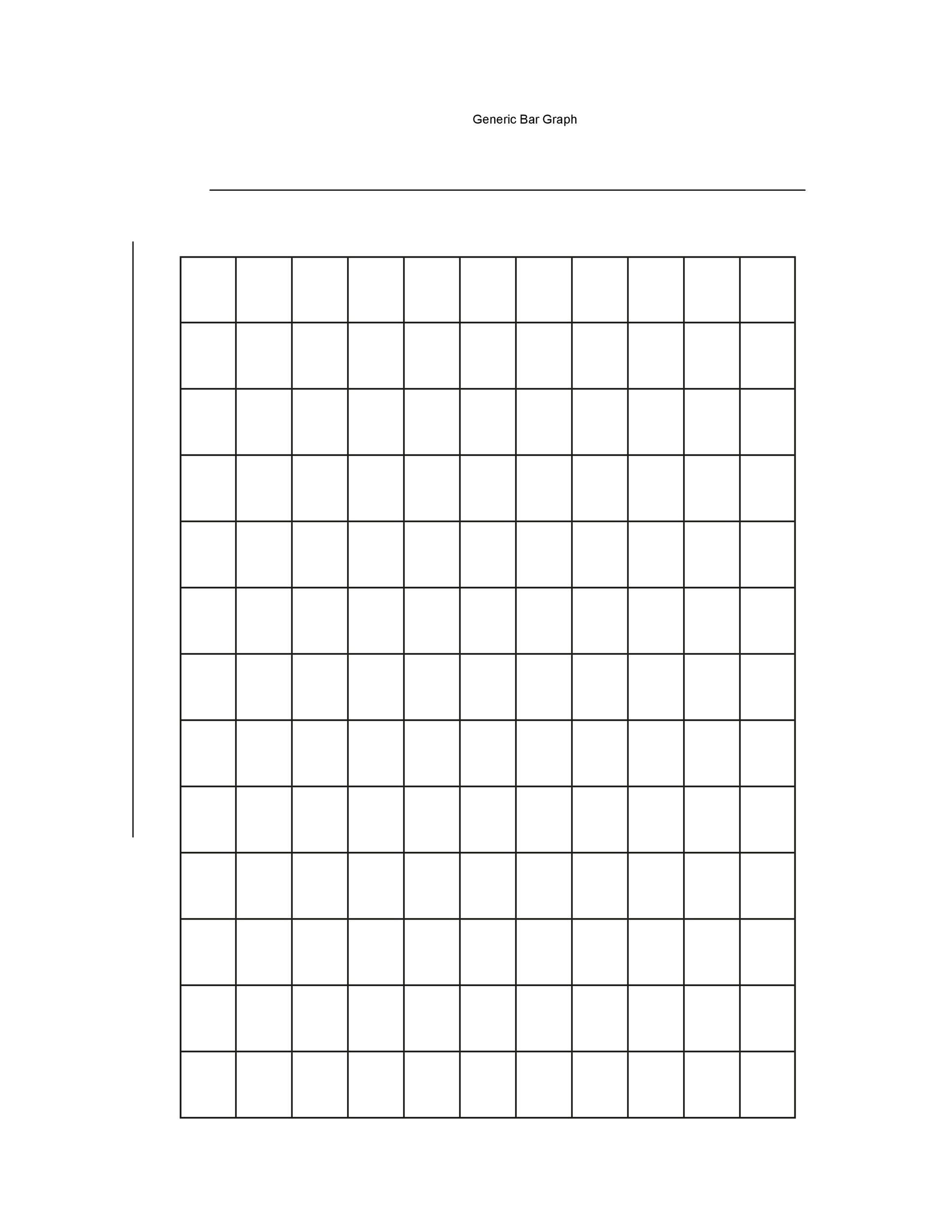 Free Printable Bar Graph Bar Graphs 01 Worksheet