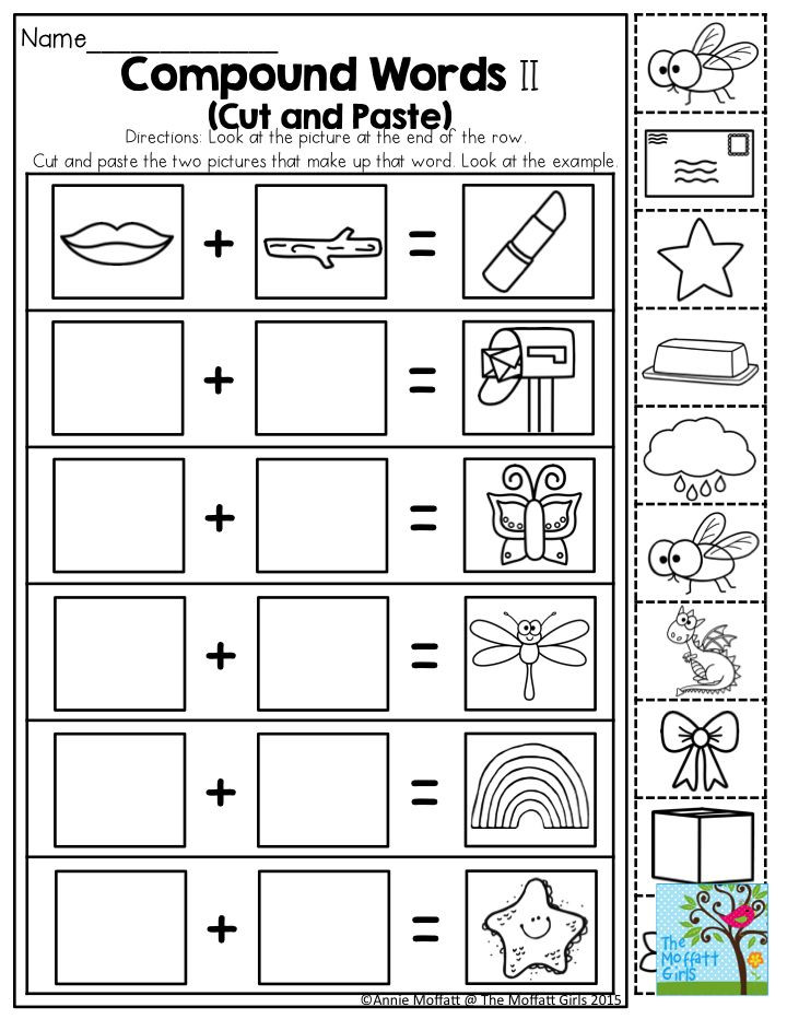 Free Printable Compound Word Worksheets May Fun Filled Learning