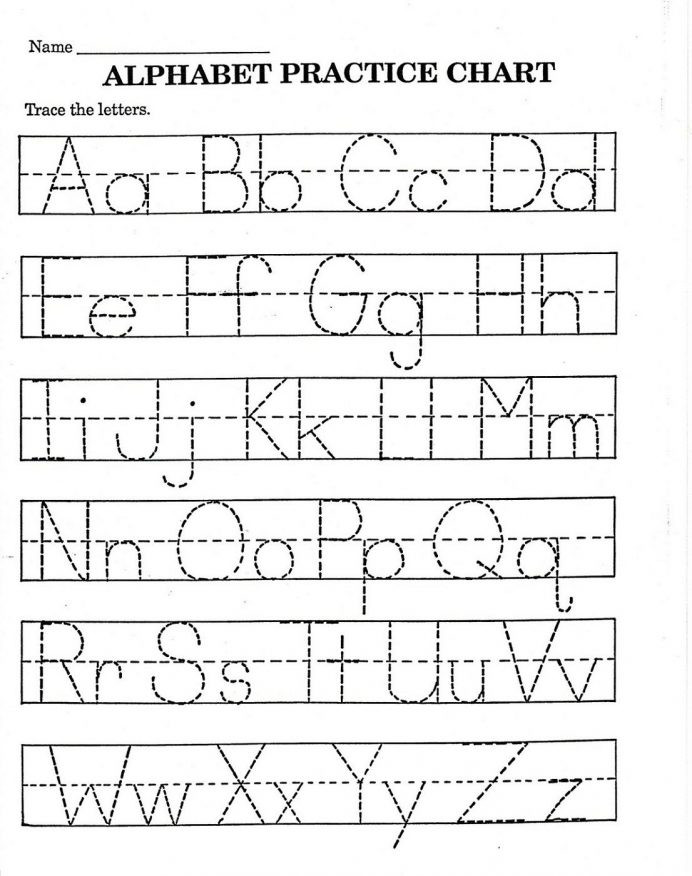 Free Printable Cursive Alphabet Chart Worksheet Handwriting Worksheets Extraordinary Preschool