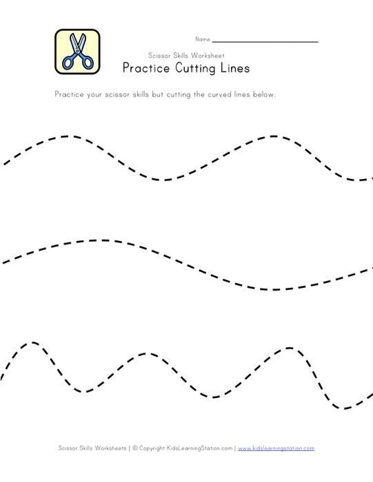 Free Printable Cutting Worksheets Scissor Skill Worksheets