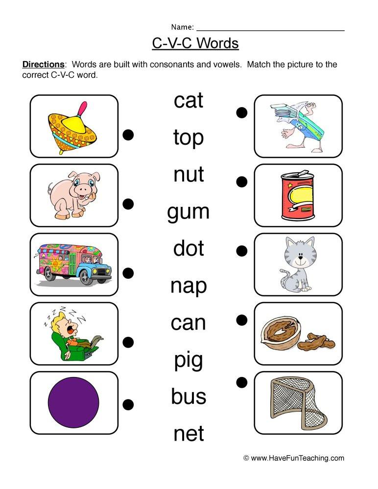 Free Printable Cvc Worksheets Cvc Worksheet New 164 Cvc Spelling Worksheets for Kindergarten