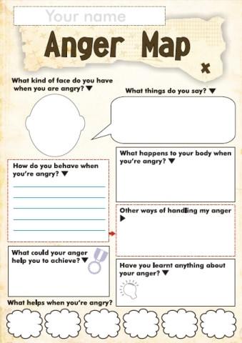 Free Printable Feelings Worksheets Free Anger and Feelings Worksheets for Kids