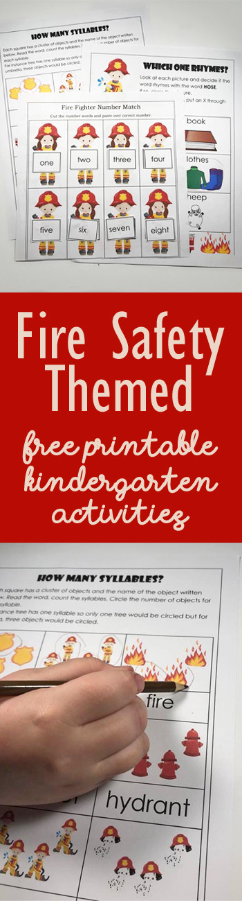 Free Printable Fire Safety Worksheets Free Fire Safety Worksheets