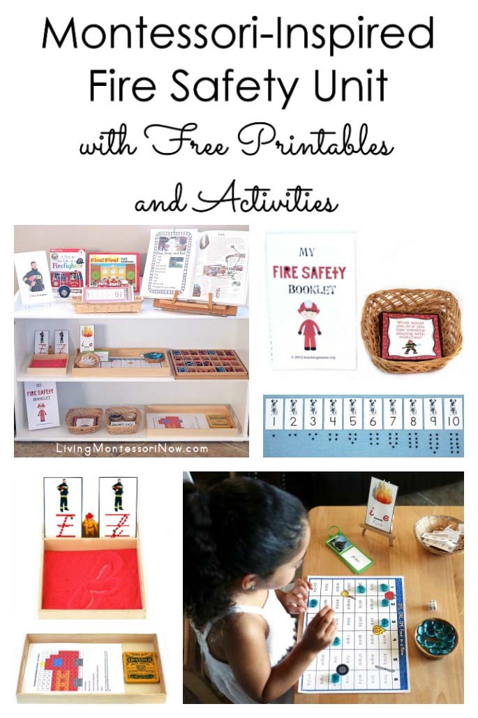 Free Printable Fire Safety Worksheets Montessori Inspired Fire Safety Unit with Free Printables