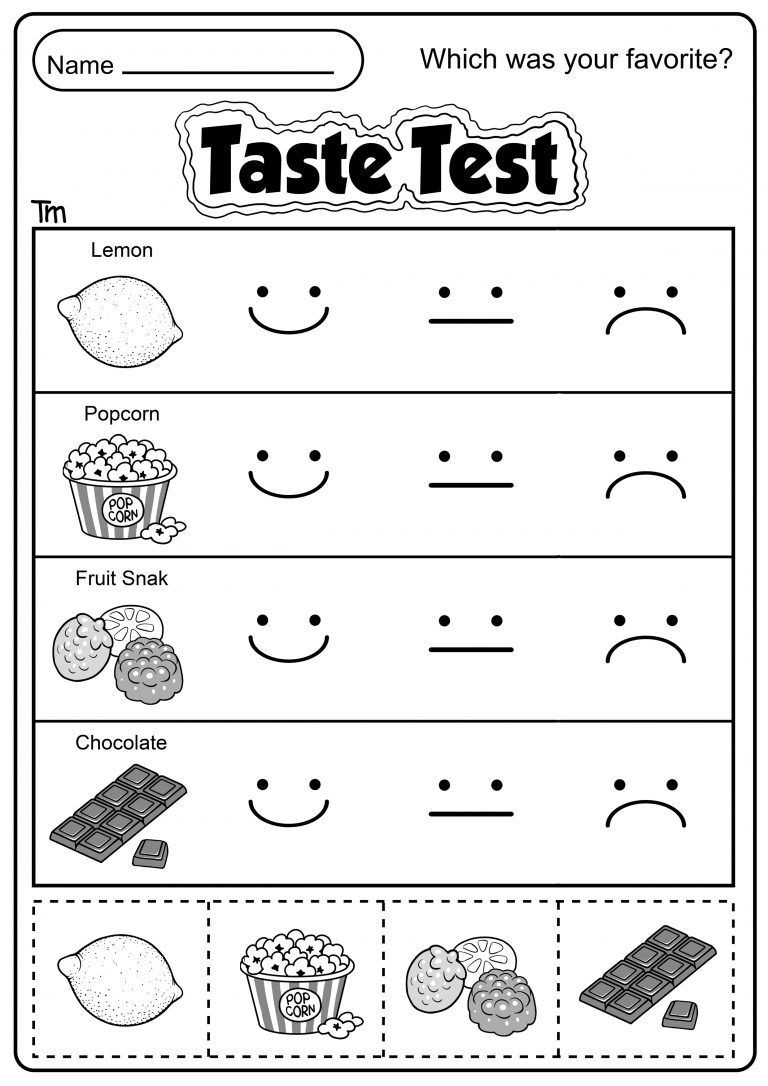 Free Printable Five Senses Worksheets Pin On Free Printable Worksheets