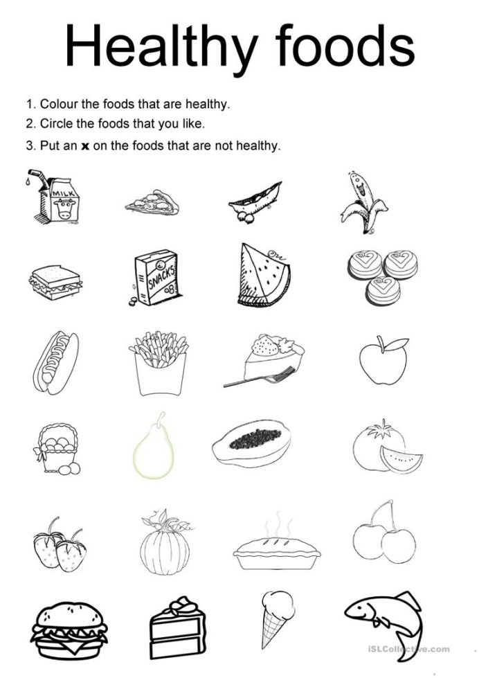 Free Printable Health Worksheets Healthy Eating Worksheets Worksheet Arithmetic for Beginners
