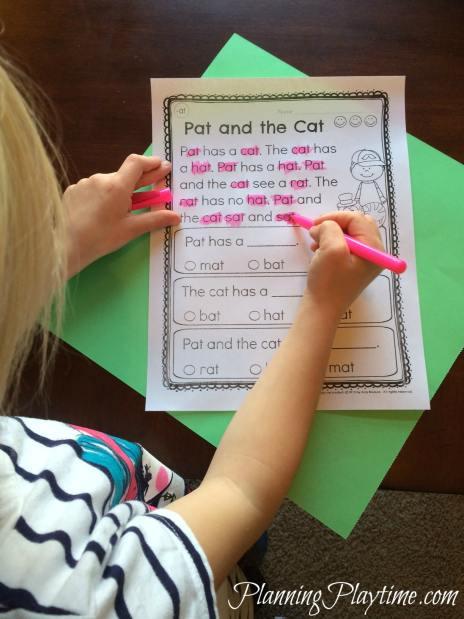 Free Printable Kindergarten Fluency Passages Kindergarten Reading Prehension Passages Planning Playtime
