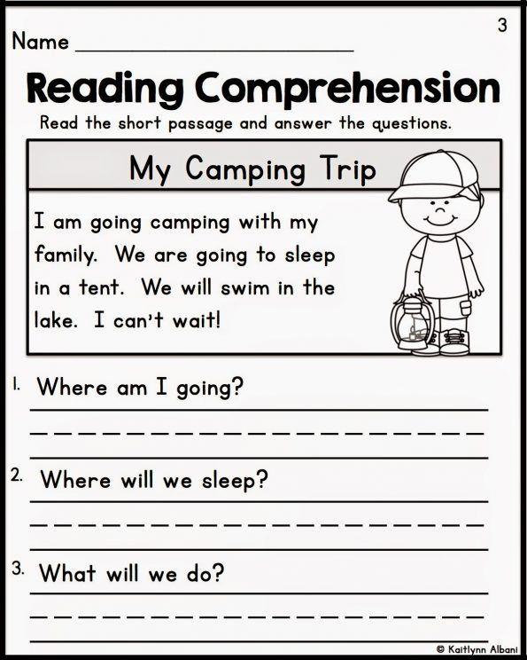 Free Printable Kindergarten Fluency Passages Kindergarten Worksheets Reading Free