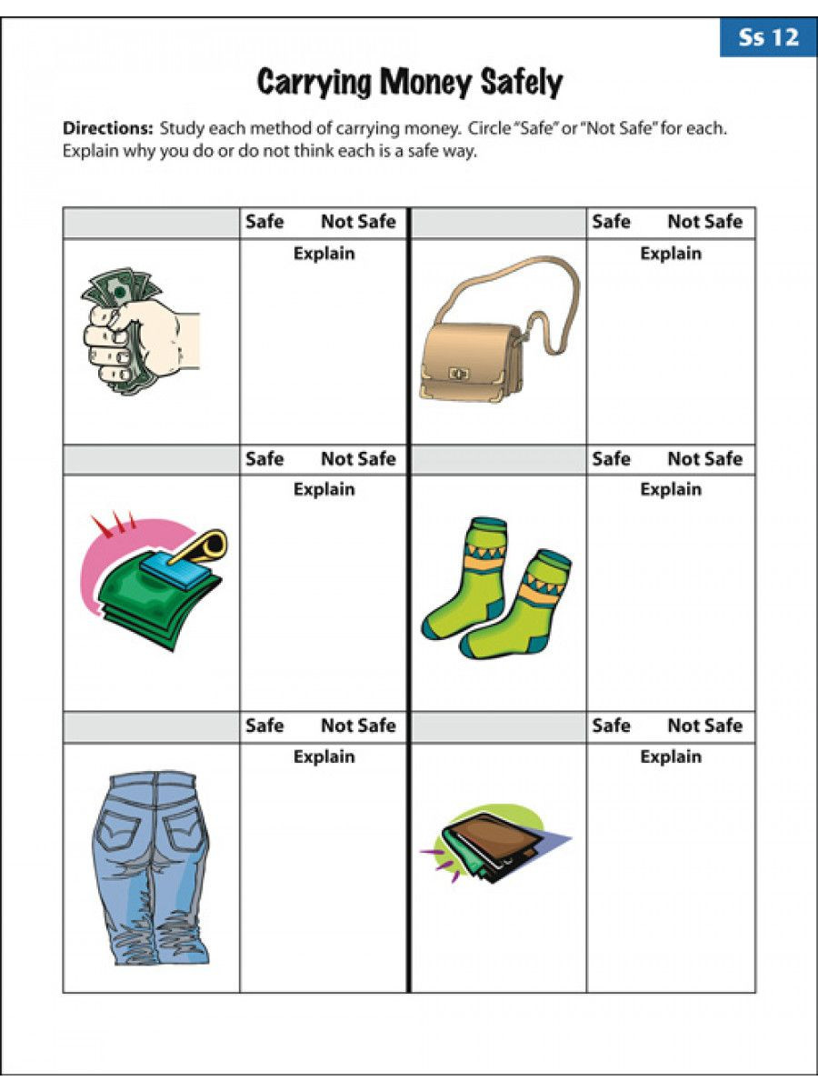 Free Printable Life Skills Worksheets Amusing Empowered by them Life Skills Worksheets to