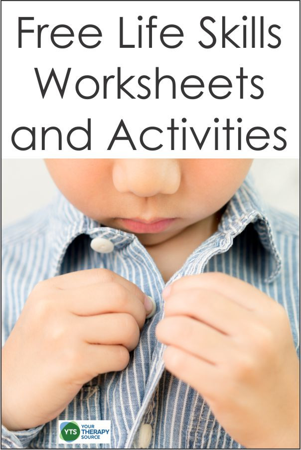 Free Printable Life Skills Worksheets Life Skills Worksheets forms and Activities Free Your