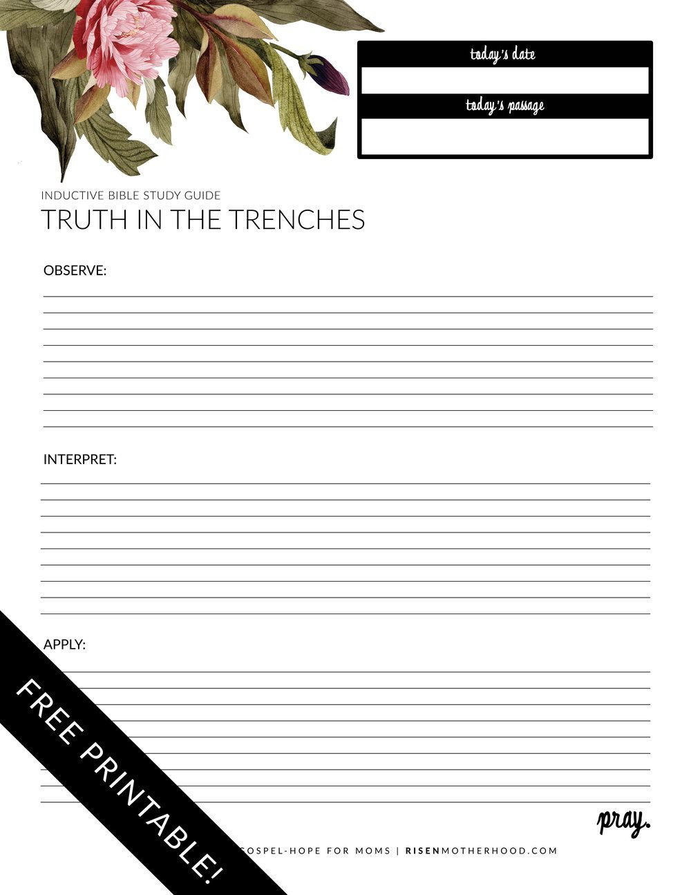 Free Printable Religious Worksheets Free Printable Inductive Bible Study Worksheets & Panion