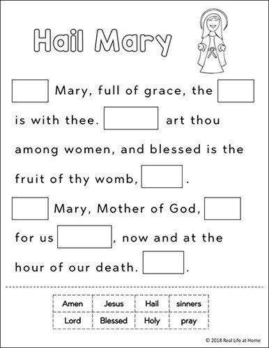 Free Printable Religious Worksheets Pin On Religion Class