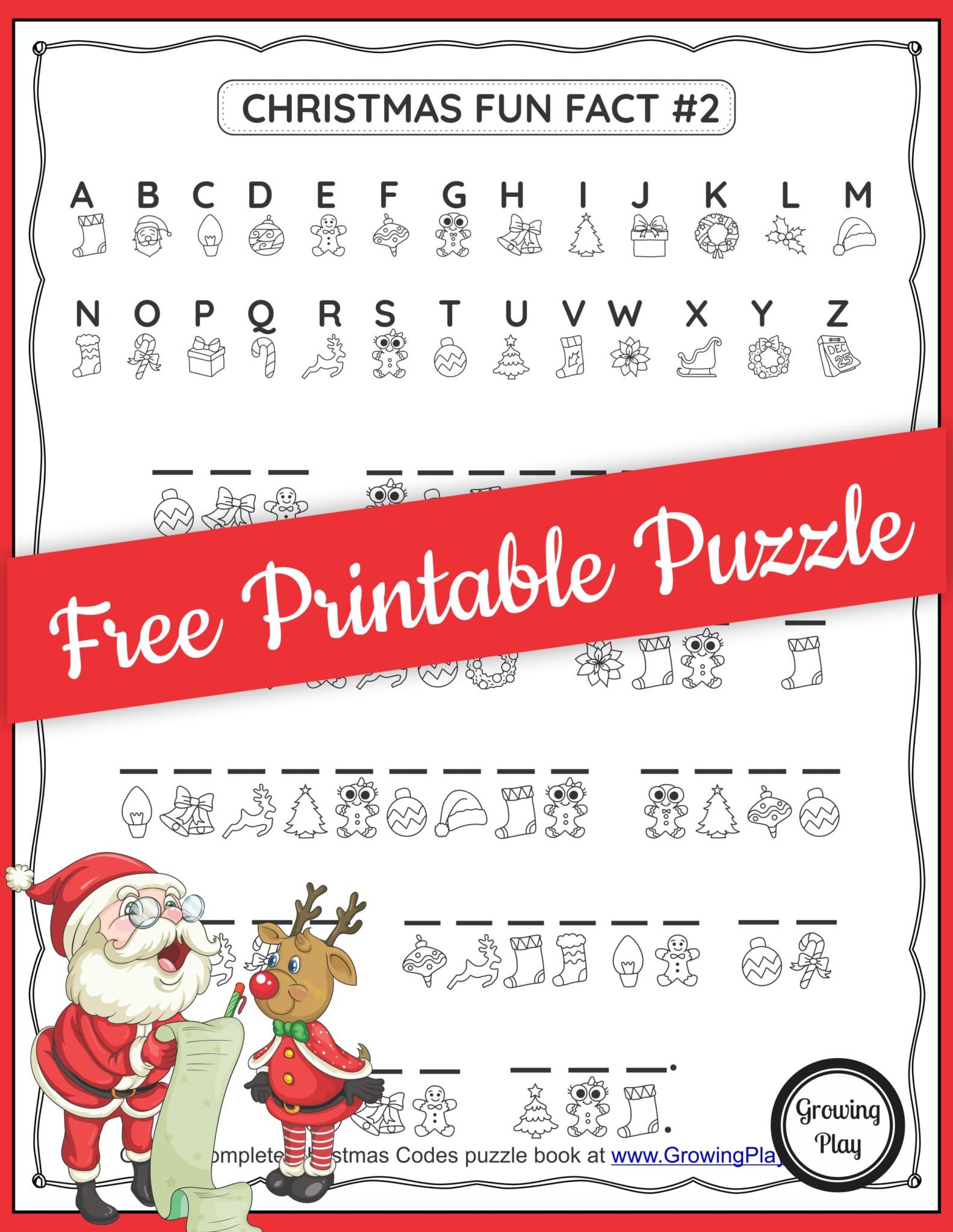 Free Printable Secret Code Worksheets Christmas Secret Code Worksheet Free Printable Growing Play