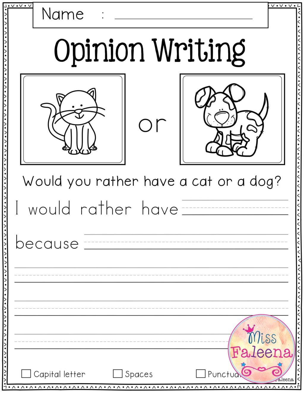 Free Printable Sentence Writing Worksheets Worksheet Worksheet Writing Worksheets for Kindergarten
