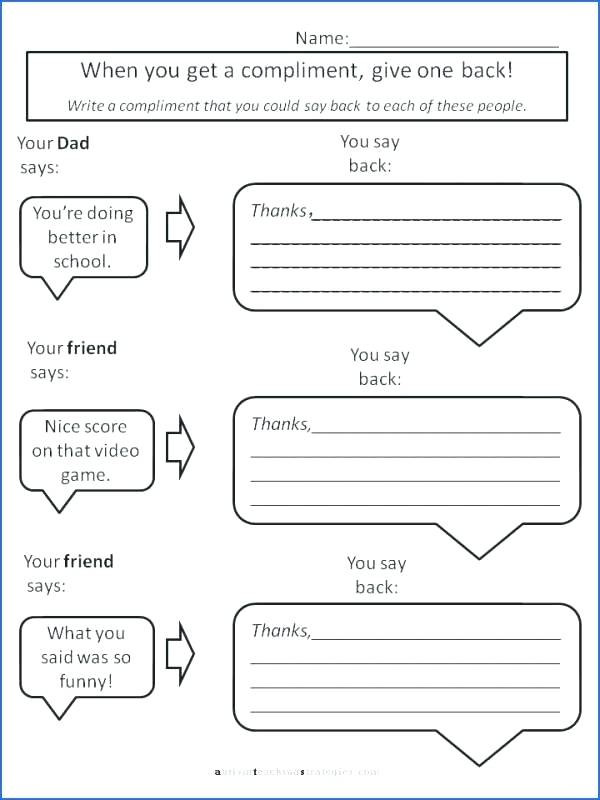 Free Printable social Skills Worksheets September 2018 – Timothyfregosoub