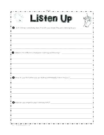 Free Printable social Skills Worksheets social Skills Activities for Kindergarten – Timothyfregosoub