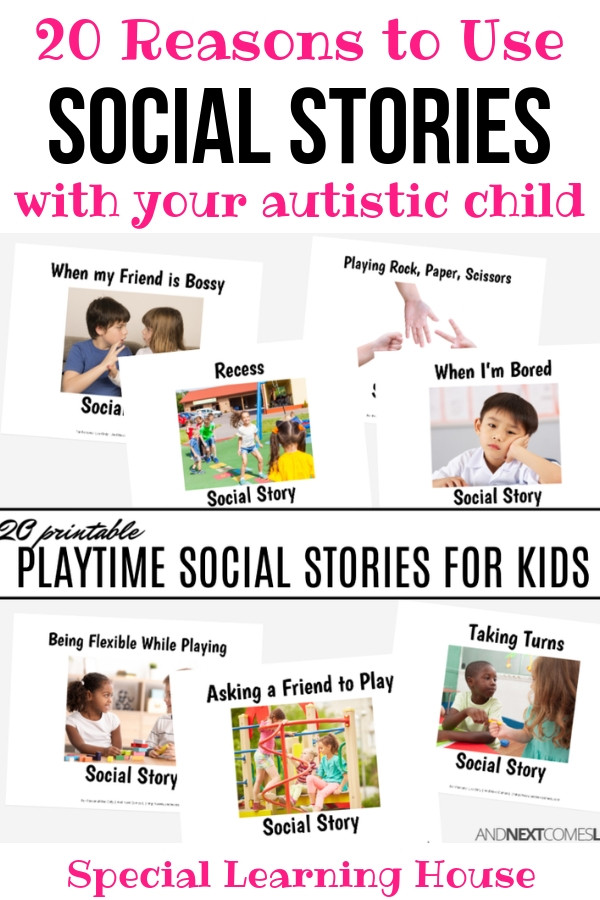 Free Printable social Stories Worksheets 20 Reasons to Use Printable social Stories to Teach Children