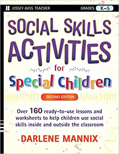 Free Printable social Stories Worksheets social Skills Activities for Special Children Mannix