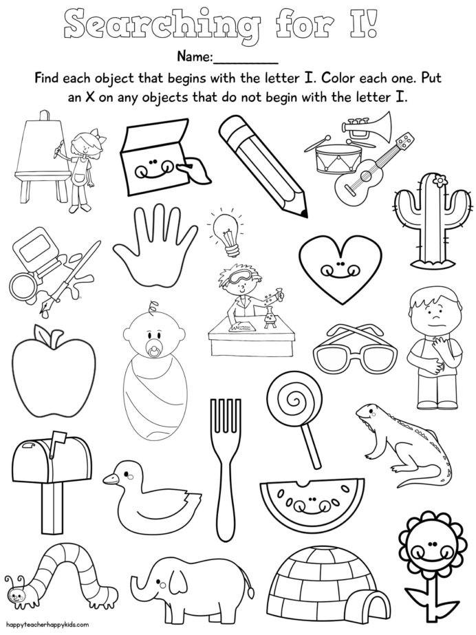 Free Rhyming Worksheets for Kindergarten Worksheet Letter Free Nursery Rhymes Preschool