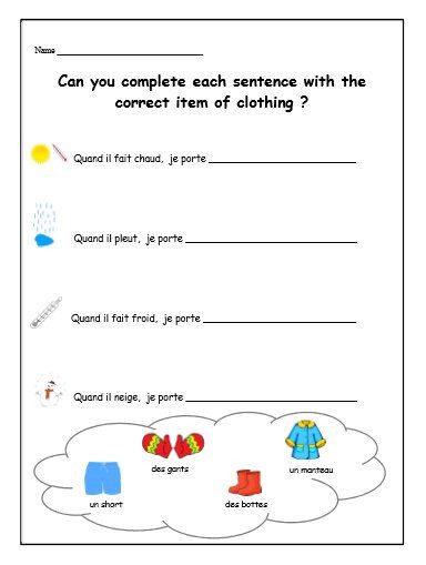 French Printable Worksheets French Teacher Worsheet Kids Activities Downloadable